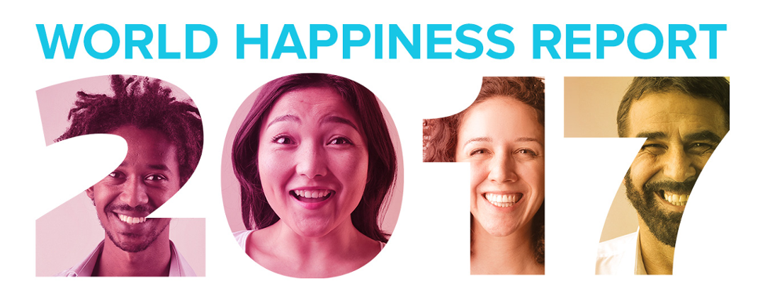 The World Happiness Report reviews the state of happiness in the world today